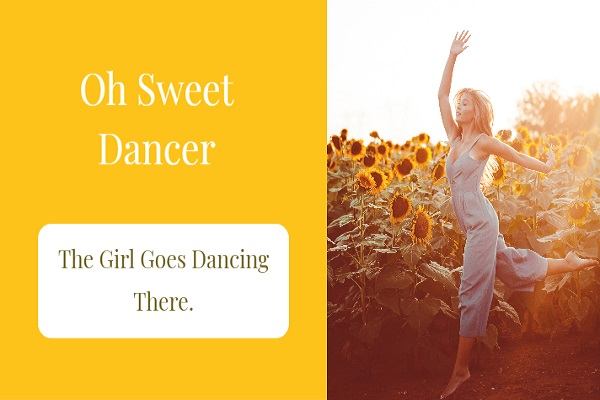 sweet dancer by w b yeats