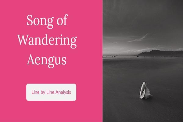 song of wandering aengus analysis